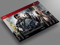 Netflix : Redesign Concept