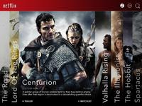 Netflix : Redesign Concept (Full shot)