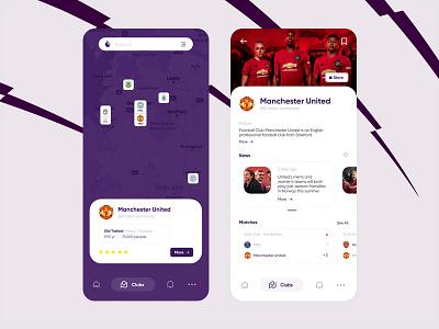 Premier League app sports design sport football epl premier league icon ux branding ui design