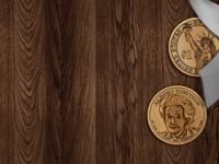 Albert Einstein Coins