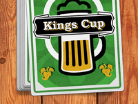 "Card Deck for the ""Kings Cup"" game"