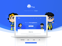 Airly smogfighters - landing page   Case study