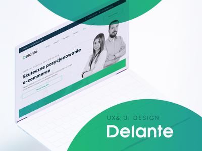 Delante UX & UI Process
