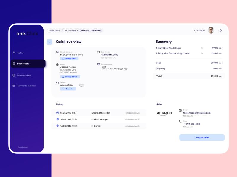 Orders Management - Dashboard order management payment app ecommerce payments fintech dashboard template customer management dashboard app dashboard design dashboard