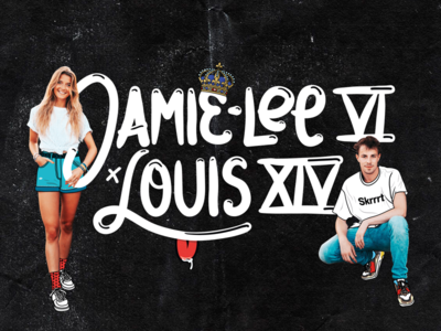 Logo design for Jamie-Lee Six and LOUIS XIV festival act mc deejay
