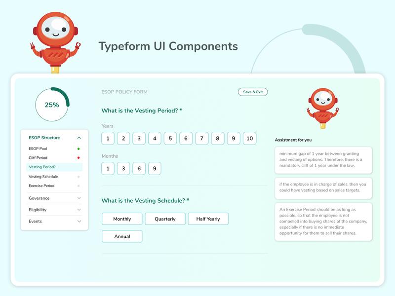 Typeform UI