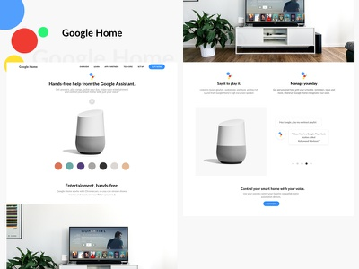 Google Home user interface googlehome user experience ux ui design ux