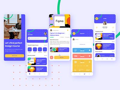 eCourse Apps designer design graphicdesign uidesign ui