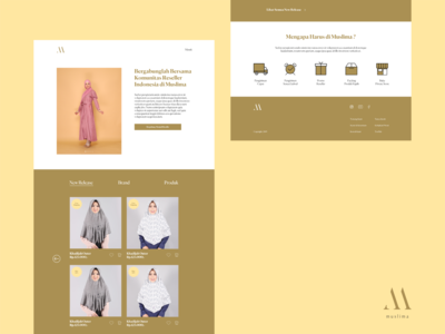 MUSLIMA | E-Commerce Website