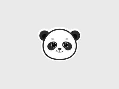 Sweet panda logo