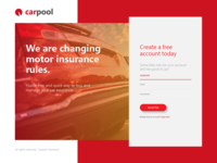 Car Insurance Signup Page