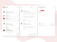 Redesign Gmail Mail Box