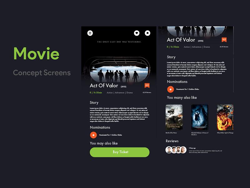 Movie Booking App act showmax cinema movie