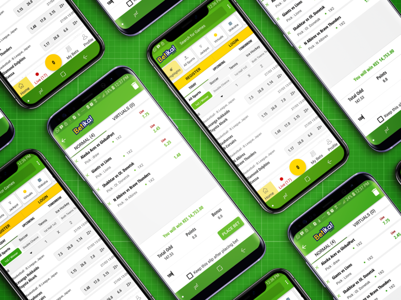 Betika for Android by Brian Ondari on Dribbble