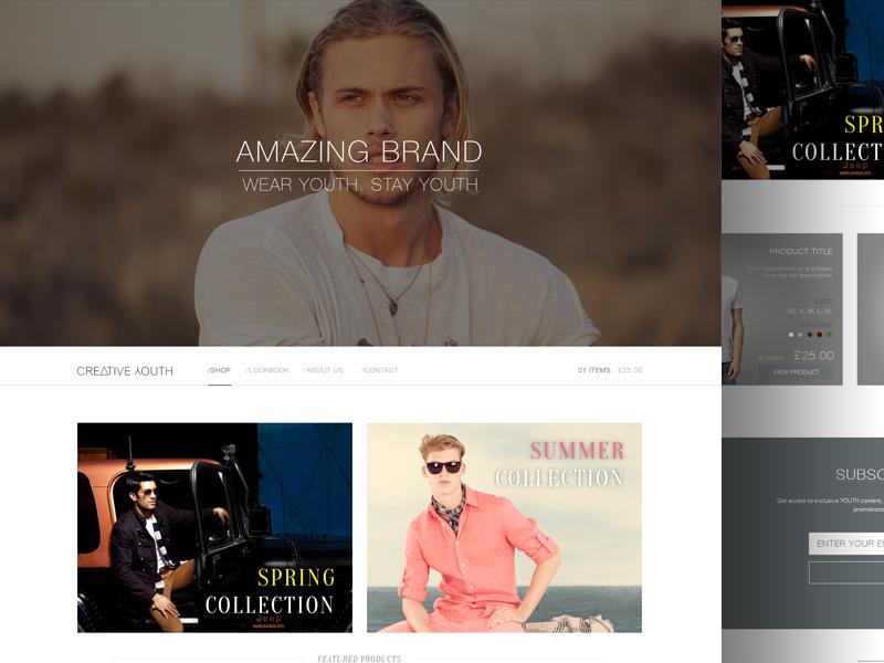 Concept Fashion eCommerce Site