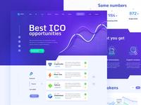 TRICO - ICO Aggregator, Website