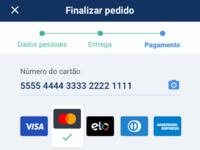 CreditCard Input
