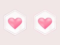 Luminous Love Logo Study