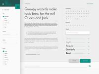 Typography. Website ecommerce (Part II)