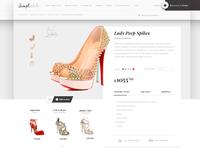 Fashion e-commerce, Site Concept