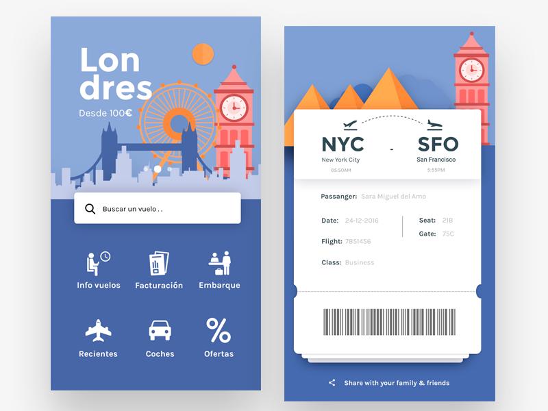 Flights app 2