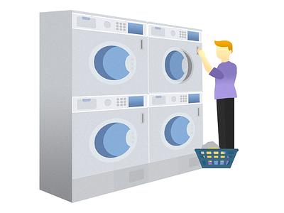 Illustration Laundry lavandería laundry illustration