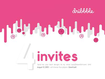 Invite dribbble dribbble invites invite giveaway dribbble invites invite