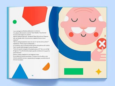 Interland: Google book illo cute interland grandfather minimal google design google mockup adobe illustrator illustrator book best dribbble shot draft character flat vector design illustration