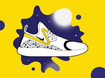 LunarCharge lunarcharge casual running sneakers illustration shoes nike