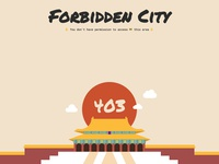 Forbidden City 403 Page