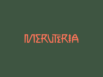 Meruteria Logo dj music brand pattern logo dublin shape latin african africa party meruteria