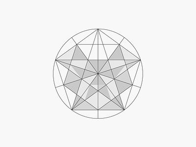 Dog Poly Grid dog cachorro triangle geometry grid shape form logo icon modernism animal pet