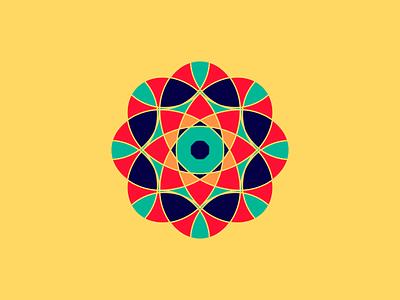Flower pattern design flower african