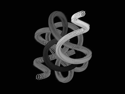 Labora Films - Illustration films abstract animal snakes snake grid brand geometry logo shape symbol design illustrator blend lines illustration music labora lab laboratory