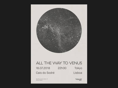 All The Way To Venus @ Tokyo Lisbon