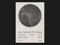 All The Way To Venus @ Tokyo Lisbon
