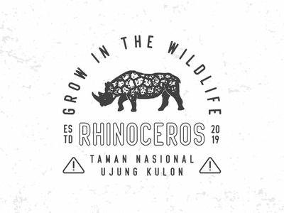 Save Rhinos rhinoceros rhino branding vintage badge display font condensed font condensed badge logo badge vintage vector font typography typeface illustration logo