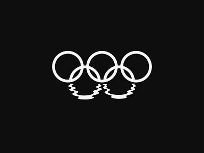 Olympic Logo Challenge: Minnesota minimal design logo reflection lake olympics olympic minnesota