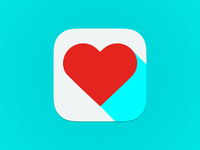 Flat Love Icon