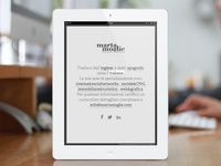 Marta Moglie web site.