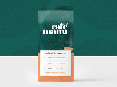 Cafe Mami Soles Truncos Packaging