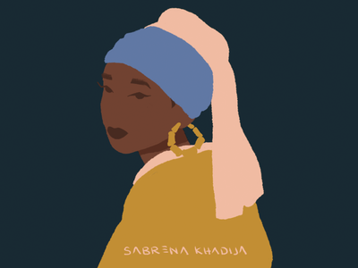 The Girl With A Bamboo Earring