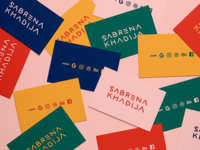 Sabrena Khadija Business Cards