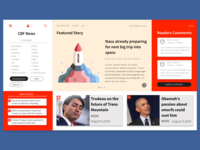 Re-design of Canadian News Site