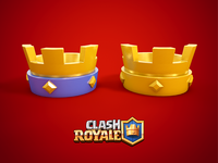Crown of Clash Royale