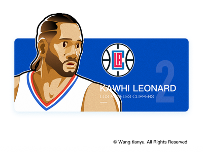 Kawhi Leonard NBA los angeles clippers