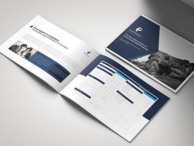 Purposed Company catalogue a4 print landscape brochure portfolio clean landscape corporate print brochure business brochure business illustration pantone design indesign brochure