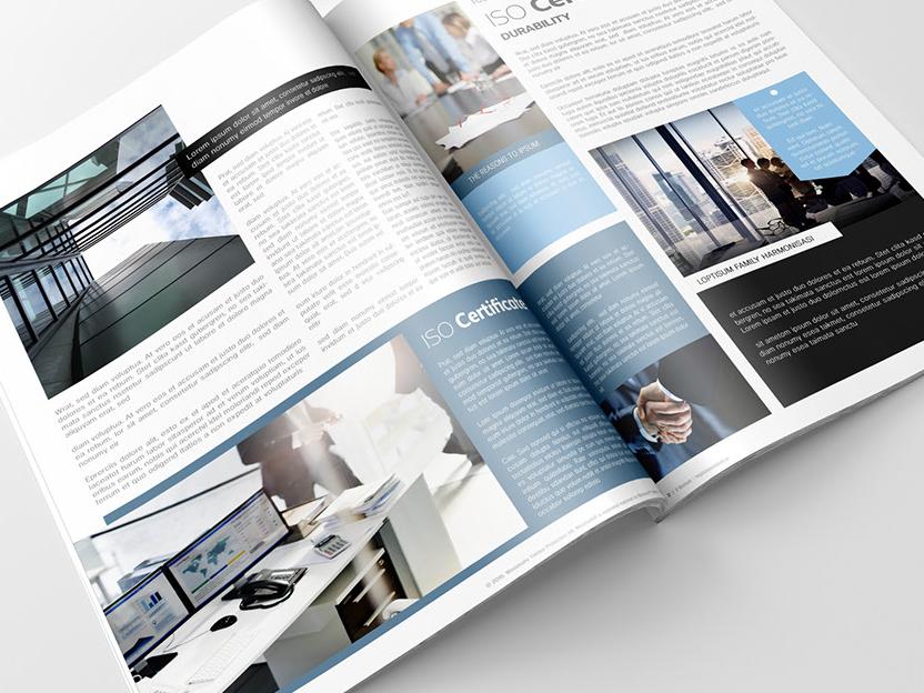 Woodsafe Magazine Part III print corporate pantone magazine cover print magazine print brochure portfolio clean design indesign business magazine ad magazine design minimal magazine