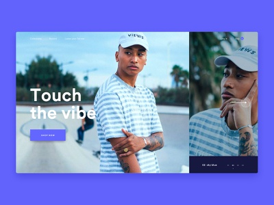 Tot-em - Home - sound waves waves sound ecommerce slider hero home purple jewelry design website ux ui typography branding