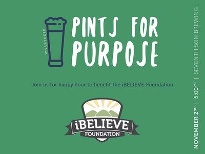 Pints For Purpose - iBelieve Foundation